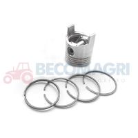 Piston cu segmenti tractor Fiat Piston  Motor