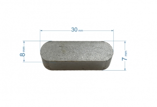 Pana 8x7x30mm 633020.01