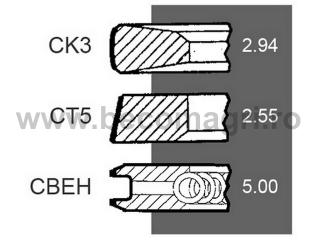 Segmenti Deutz Segmenti  Motor