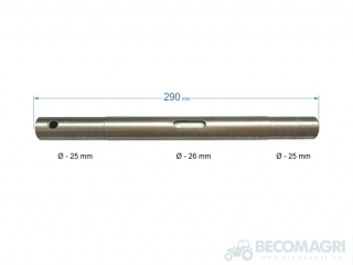 Ax 292x25/26mm 605127.00