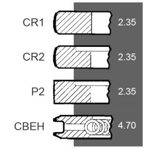 Segmenti Ford Segmenti  Motor
